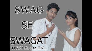 Swag se swagat song Dance Choreography | Tiger Zinda Hai | Shivam Dance Group | Shivam khandelwal
