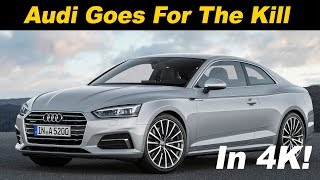 2018 Audi A5 Review and Road Test In 4K UHD!