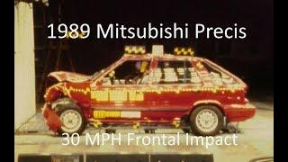 1985-1989 Mitsubishi Precis/Hyundai Excel Fmvss 208 Frontal Impact (30 Mph)