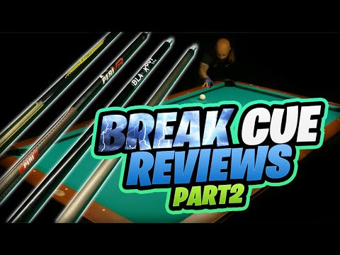 2021 Break Cue Reviews: Jacoby Blackout and Pure X HXTP01 (part 2 of 2)