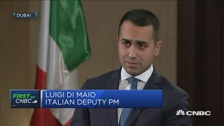 Don't see any risks for Italian banks, euro zone or Europe: Italian deputy PM   Squawk Box Europe
