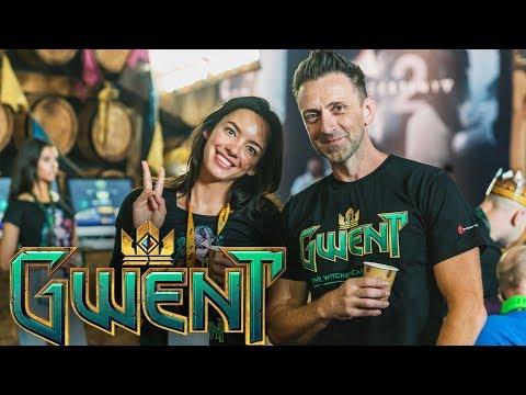 GWENT gamescom 2017 Impressions  #gwentscom von CD Projekt Red mit Frank SiriuS