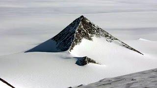南極大陸にピラミッドは存在する。元ロシア軍人が証言! グーグルアースでも確認!