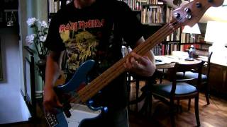 IRON MAIDEN - Innocent Exile Bass Cover (Real Steve Harris Solo)