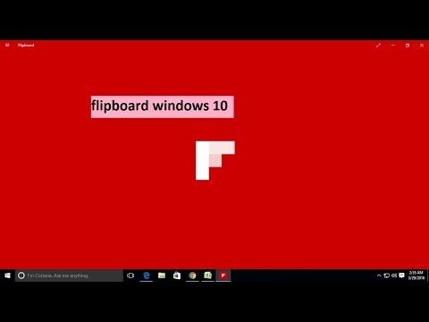 Flipboard windows 10