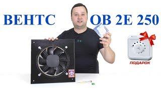 ВЕНТС ОВ 2Е 250 - Осевой вентилятор низкого давления  Обзор, подключение, пример работы