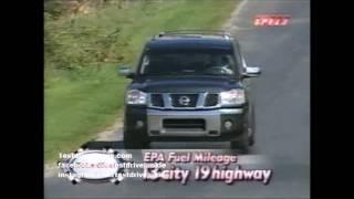 MW 2004 Nissan Pathfinder Armada Test Drive