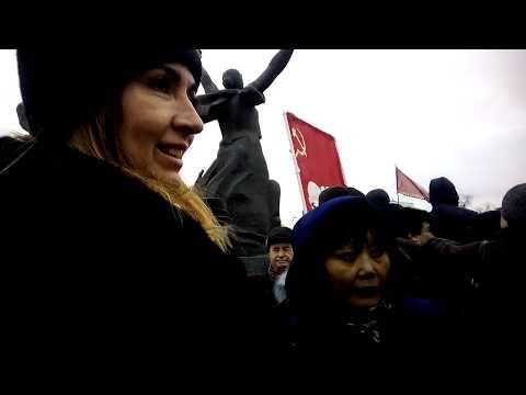 митинг в Москве за возрождение СССР Ч5