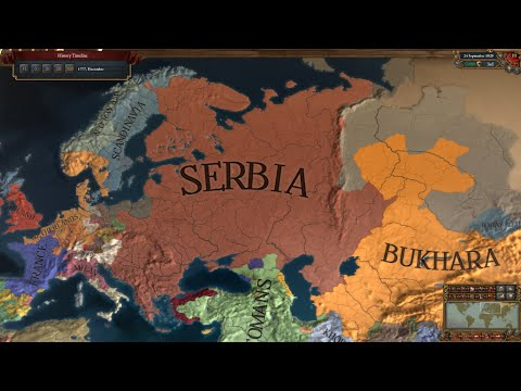EU4 - Timelapse - My Serbian Empire