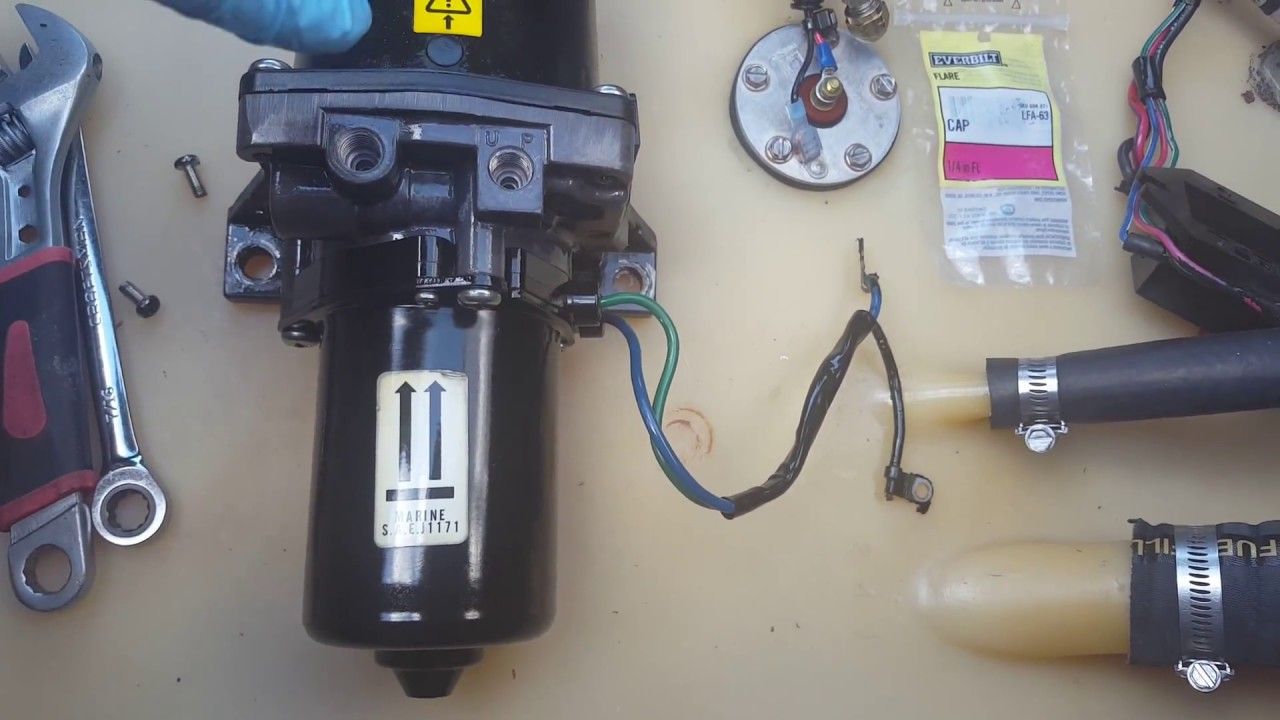 Omc Cobra Volvo Penta Sx Tilt Trim Cylinder Hydraulic Line Leak Oildyne Pump Wiring Diagram Diagnosis