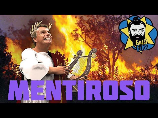 Bolsonaro mente na ONU e ignora queimadas