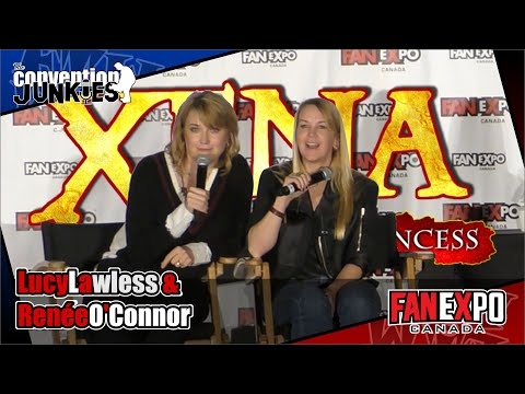 Xena's Lucy Lawless & Renee O'Connor  Expo Canada 2018 Full Panel