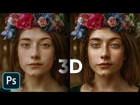 Using 3D Luminosity on Portraits with Photoshop
