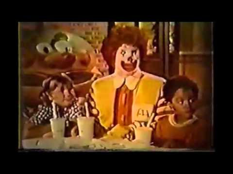 Old McDonalds Commercials 1970's Compilation