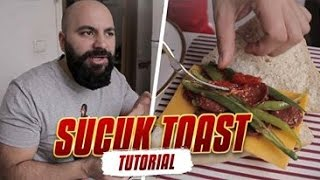 Sucuk Toast türkisch Style Tutorial