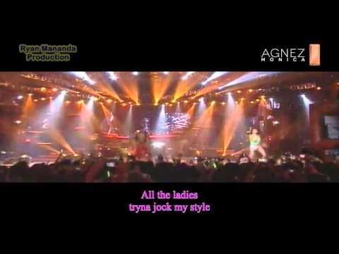 Agnes Monica - Shut 'Em Up with lyrics @Make It Happen Concert
