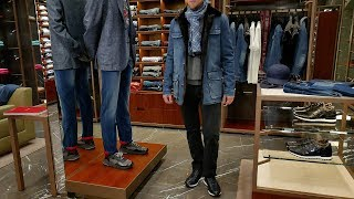 Мужской total-look от Kiton: куртки, джемпера, джинсов и сникеров, review - Видео от Лакшери