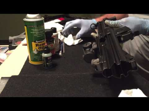 Roller Lock Receiver Cleaning and Treating MP5 G3 HK93 SP5K Fireclean