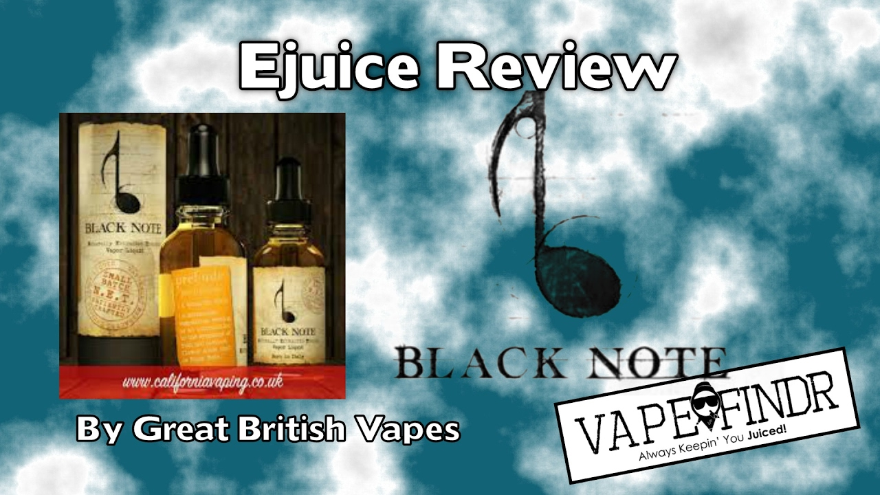 Flavour Breakdown Black Note N E T (naturally extracted tobacco) Sonata