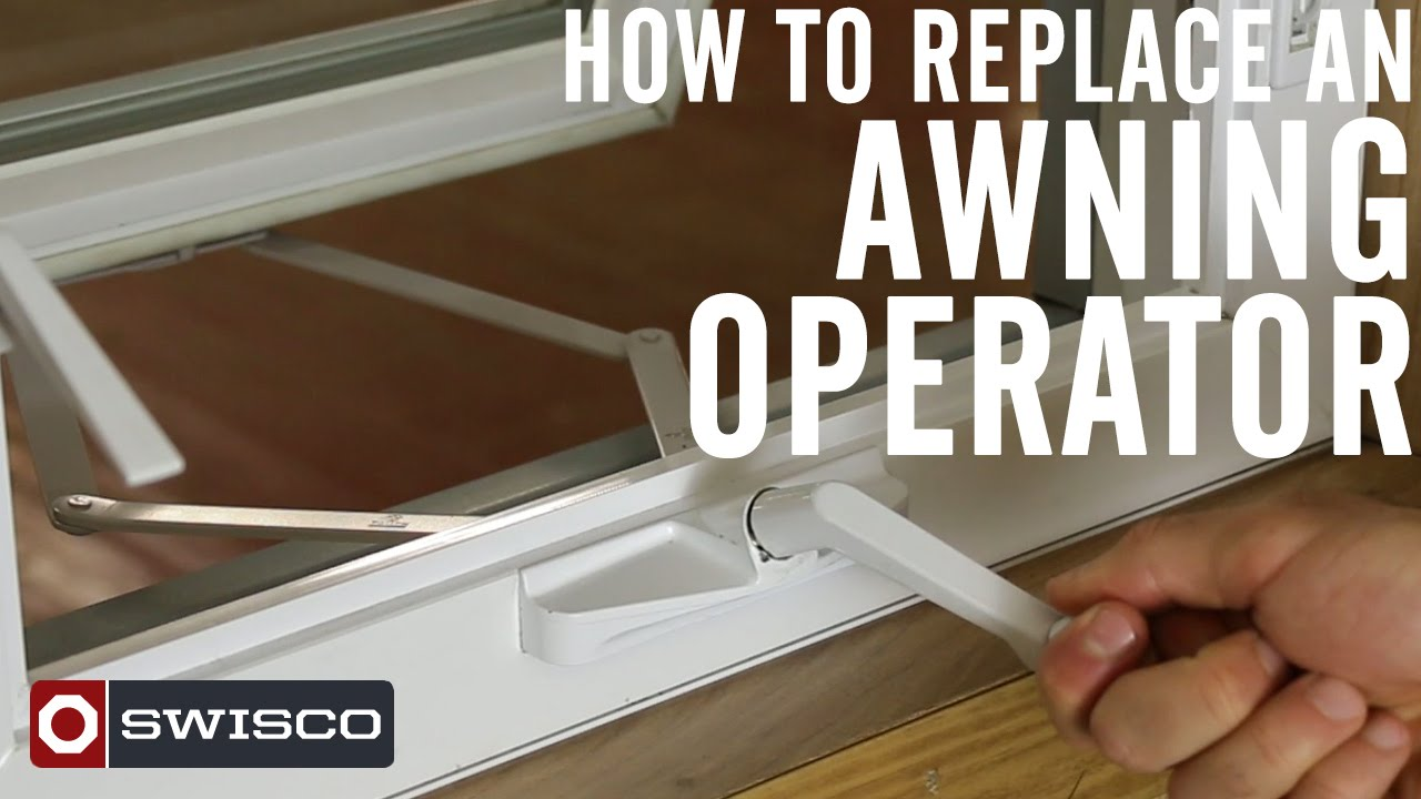 how to replace an awning operator 1080p youtube
