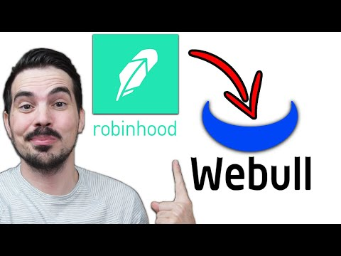 How To Transfer YOUR Stocks From Robinhood To WeBull