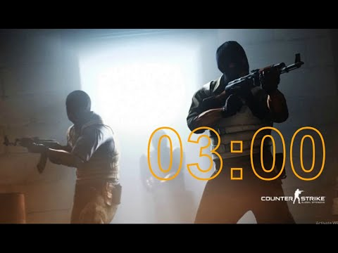Counter-Strike: Global Offensive (CSGO) - 3 Minute Timer