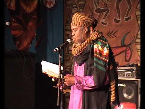 Mutabaruka at Poetry Africa 2010