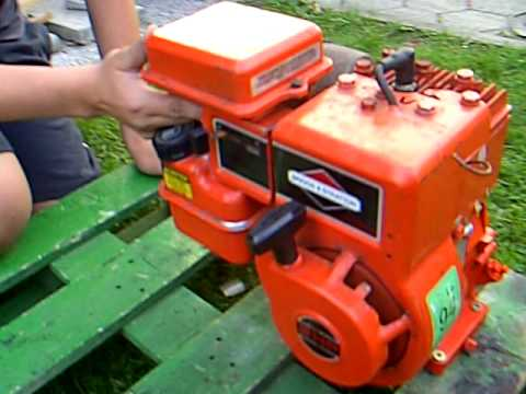 first start 3 hp briggs stratton 3600 rpm youtube. Black Bedroom Furniture Sets. Home Design Ideas