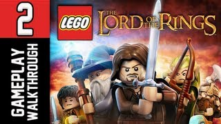 LEGO The Lord of the Rings Walkthrough - Part 2 Saruman Let