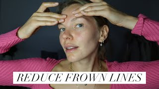 FOREHEAD & FROWN LINES MASSAGE | Get rid of wrinkles