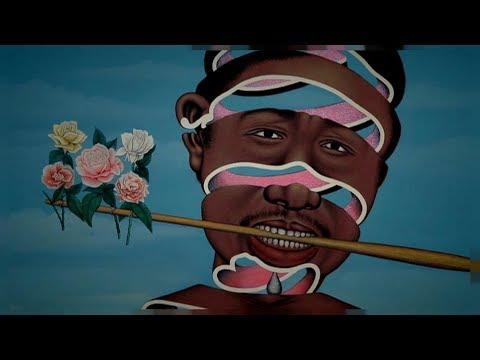Contemporary African art wows Paris