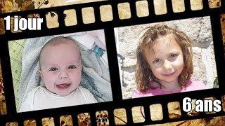 [VLOG] Bébé Lana de 0 à 6 ans ! Retour sur les premières années de Lana ! Tranche de vie - Timeline