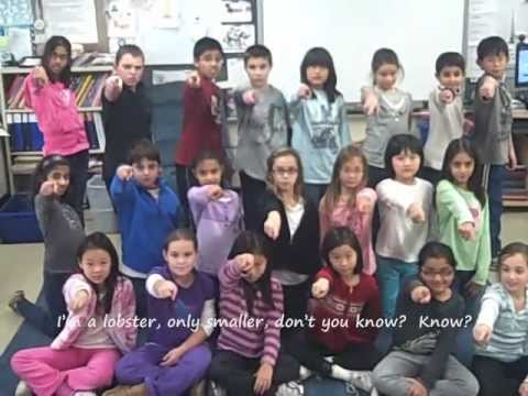 Klik Klok - A Song About Crayfish - Music Video Class of 2010/2011