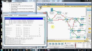 Repeat youtube video CCNA 2 FINAL EXAM PRACTICAL SOLUTION