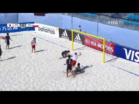 Match 5: Japan V Poland - FIFA Beach Soccer World Cup 2017