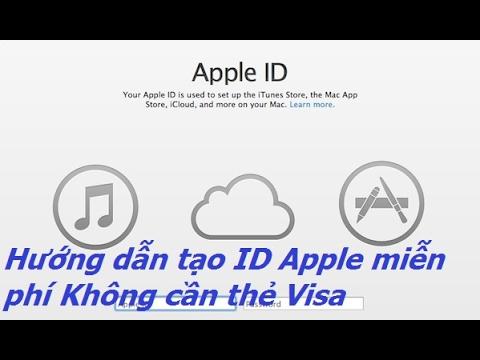 Hướng dẫn tạo id apple miễn phí trên iPad