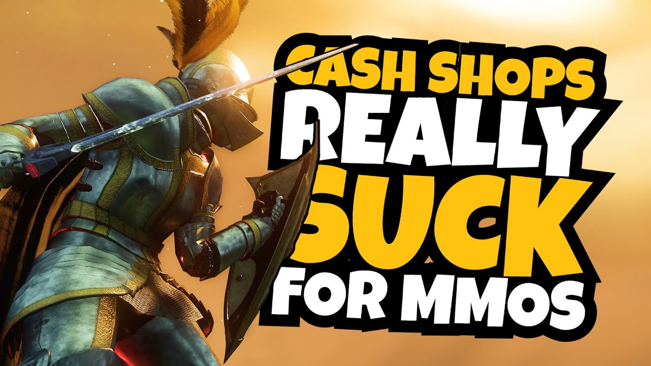 The Problems With New World, MMOs, and Microtransactions