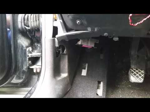 Hood Release Handle On A Vw Mkiv Removal How To