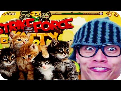 Игра Ударный отряд Котят Strike Force Kitty онлайн