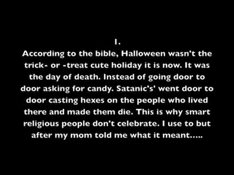 3 scary facts about halloween that might make you hate it - Strange Halloween Facts