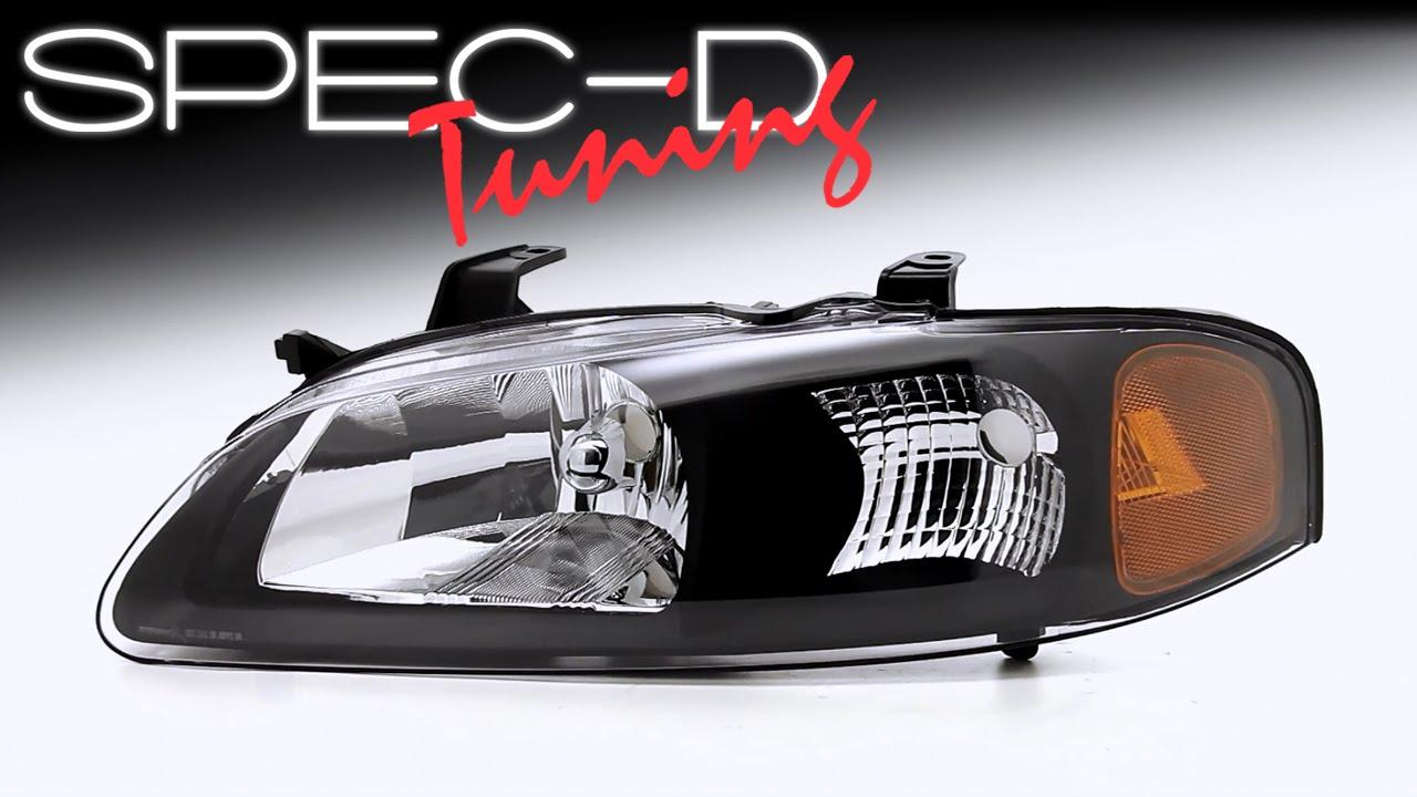 Specdtuning Demo Video 2000 2003 Nissan Sentra Headlights