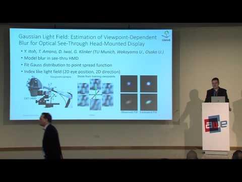 Dieter Schmalsteig (TU Graz) Review of ISMAR research