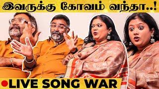Srilekha Parthasarathy vs Shriram🔥 | Ultimate LIVE Song War! | Super Exclusive Interview
