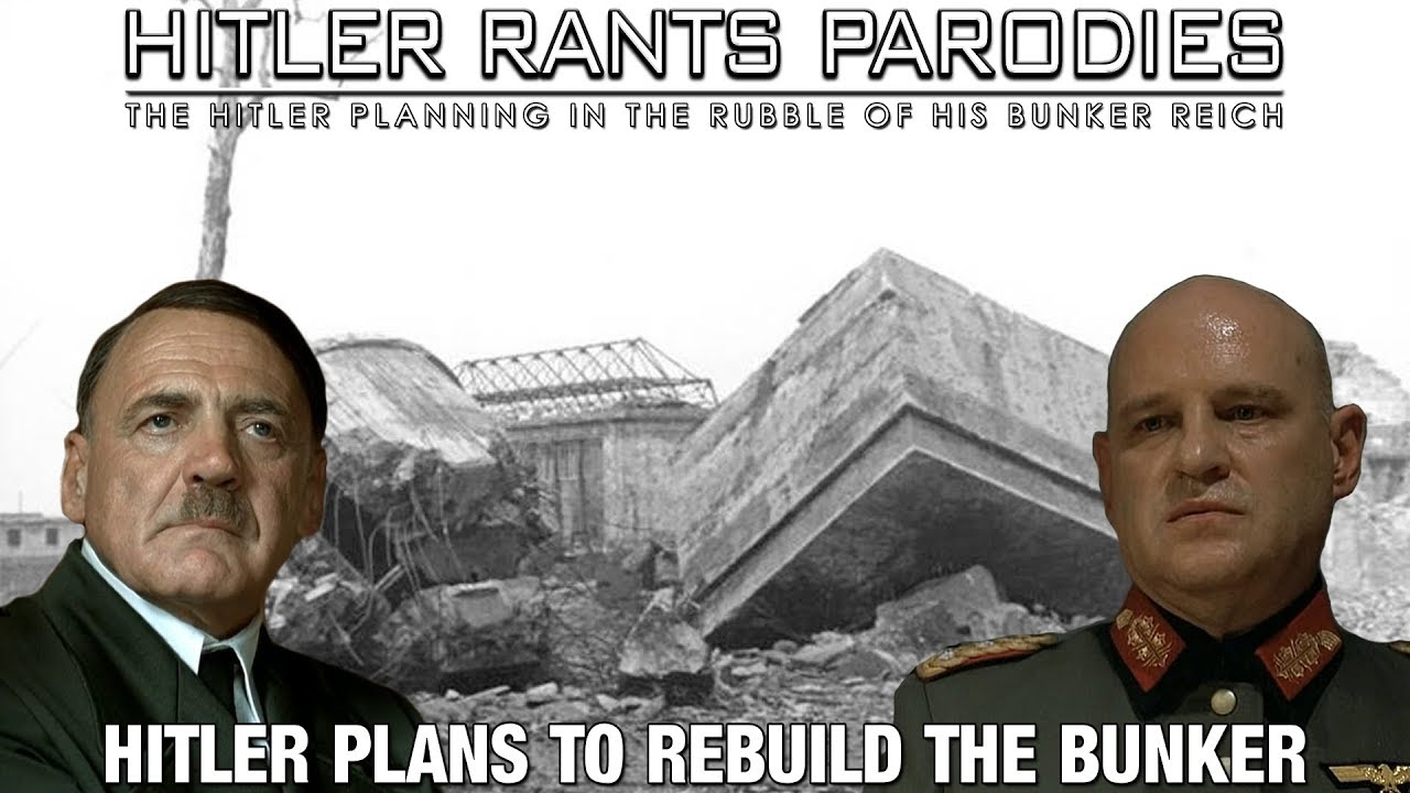 Hitler plans to rebuild the bunker