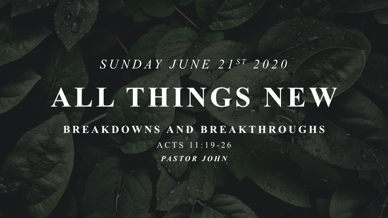 Sunday, June 21, 2020