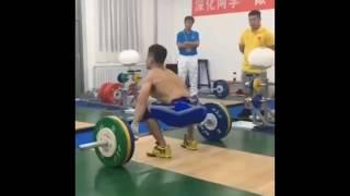 Lu Xiaojun Snatch Domination at 2017 National Games