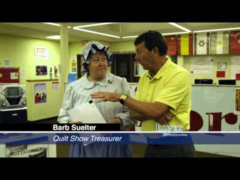 Illinois Stories | River Country Quilt Show | WSEC TV:PBS Jacksonville