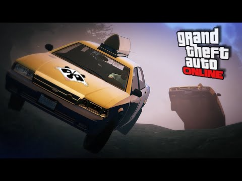 Taxi A.I. Challenge! || GTA 5 Online || PC (Funny Moments!)