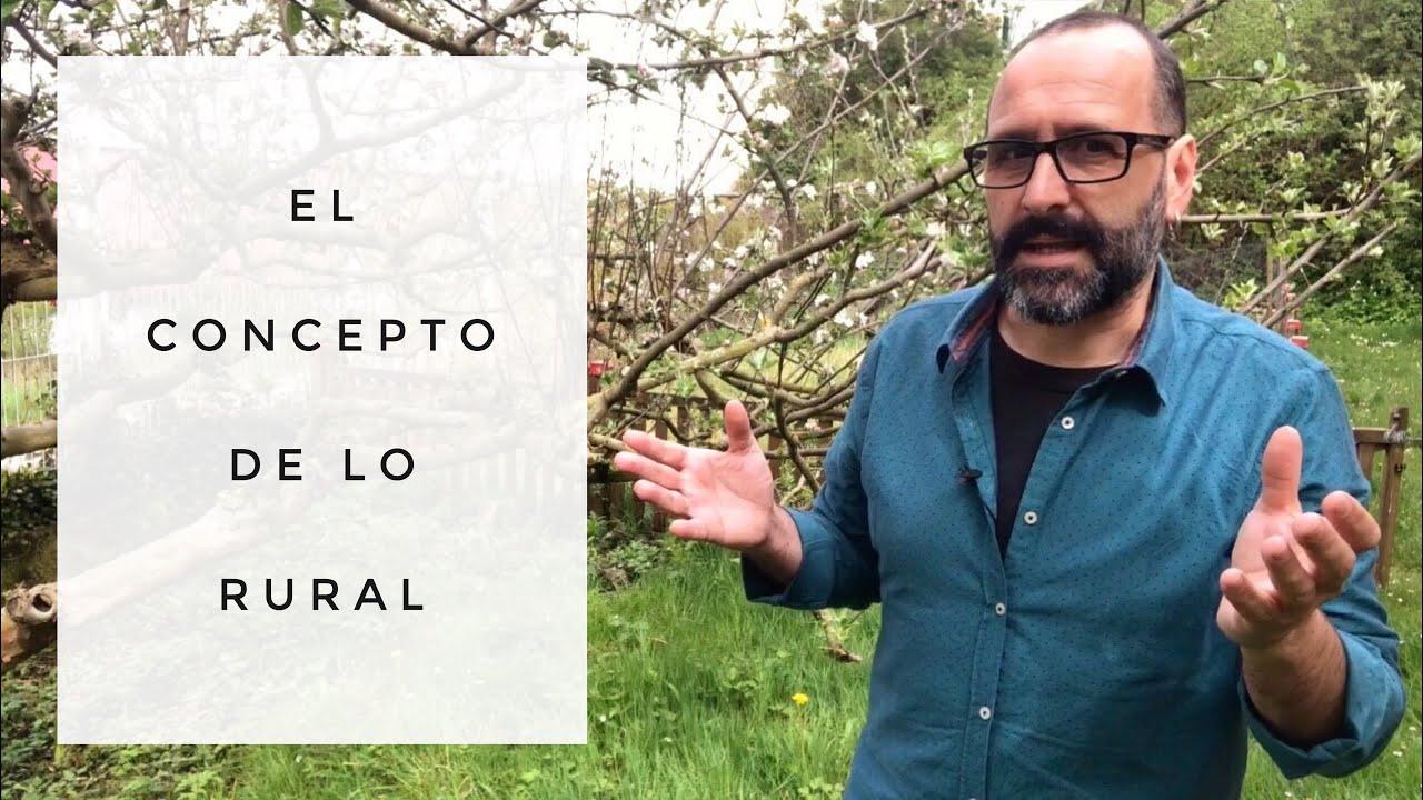 Población de menor categoría: el concepto de lo rural.