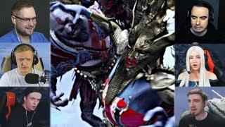 """""""Реакции Летсплейщиков"""" на Королеву Валькирий из God of War 4"""